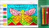 Математические раскраски разного уровня сложности